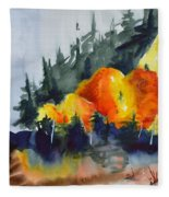 Great Balls Of Fire Fleece Blanket