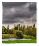 Great Barford River View Fleece Blanket