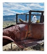 Great Basin Jalopy Fleece Blanket