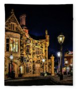 Great Britain World Showcase Epcot Fleece Blanket