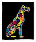 Great Dane Big Dog Pet Full Body Chillin True Friend Fleece Blanket