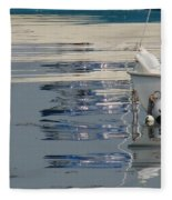 Great Day For Sailing Fleece Blanket