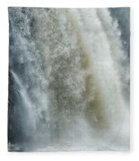 Great Falls Of Paterson Nj Fleece Blanket