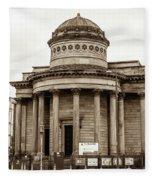 Great George Street Congregational Church Liverpool Fleece Blanket