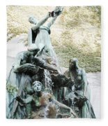 Great Lakes Fountain Fleece Blanket