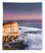 Great Ocean Road Seascape Fleece Blanket