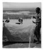 Great Rift Fishermen Fleece Blanket