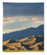 Great Sand Dunes, Colorado Fleece Blanket