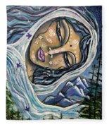 Great Star Mother Fleece Blanket