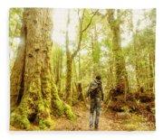 Great Tasmania Short Walks Fleece Blanket