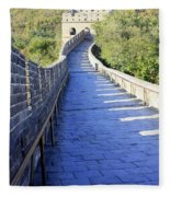 Great Wall Pathway Fleece Blanket