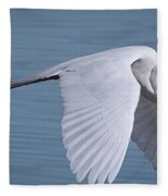 Great White Flight Fleece Blanket