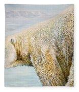 Great White Hunter Fleece Blanket