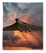 Great White Vulcan Fleece Blanket