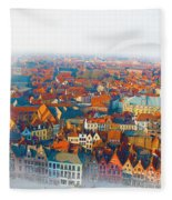 Greatest Small Cities In The World Fleece Blanket
