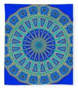 Grecian Tiles No. 2 Fleece Blanket