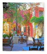 Greek Culture - 4162 Fleece Blanket