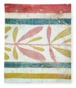 Greek Fresco Detail, Paestum, Italy Fleece Blanket