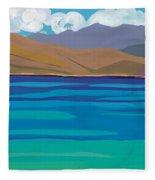 Greek Sea Fleece Blanket