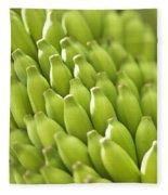 Green Banana Bunch Fleece Blanket