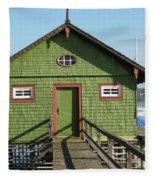 Green Boathouse Fleece Blanket