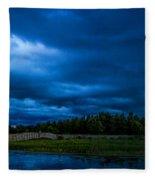 Green Cay Storm 5 Fleece Blanket