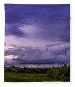 Green Cay Storm 7 Fleece Blanket