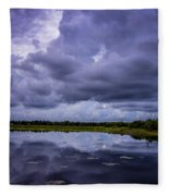 Green Cay Storm 8 Fleece Blanket
