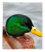 Green Head Fleece Blanket