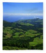 Green Hills Fleece Blanket