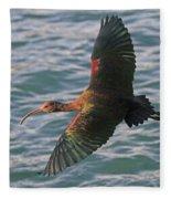 Green Ibis 6 Fleece Blanket