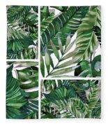 Green Life Fleece Blanket