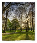 Green Park London Fleece Blanket
