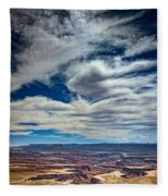 Green River Overlook Fleece Blanket