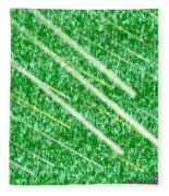 Green Streak Fleece Blanket