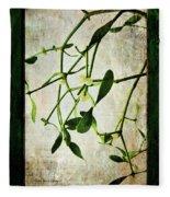 Green Tales  Fleece Blanket