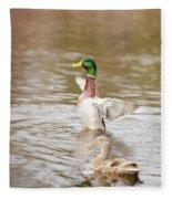 Greenhead Fleece Blanket