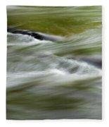 Greens Of Summer Fleece Blanket