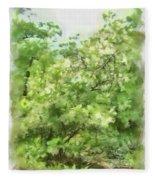 Greenstone Trail Fleece Blanket