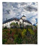 Greifenstein Castle Fleece Blanket