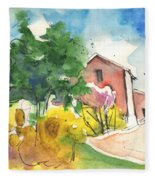 Greve In Chianti In Italy 01 Fleece Blanket