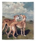 Greyhounds Fleece Blanket
