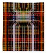 Grid 2 Fleece Blanket