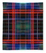 Grid 4 Fleece Blanket