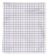 Grid Boxes In White 30-p0171 Fleece Blanket
