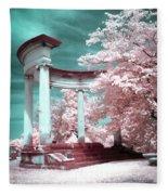 Grieving Columns Fleece Blanket