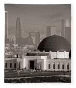 Griffith Observatory Fleece Blanket