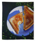 Grilled Cheese Picnic Fleece Blanket