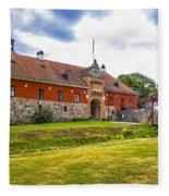 Gripsholm Entrance Fleece Blanket