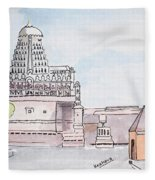 Grishneshwar Jyotirling Fleece Blanket